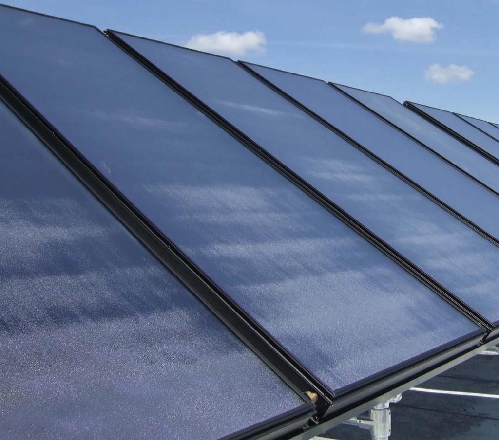 Etapă din proiectarea şi realizarea unui sistem termic solar